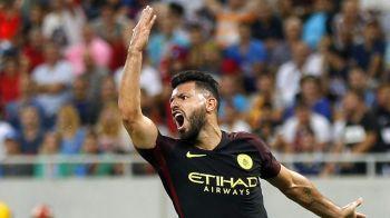 Lovitura grea pentru Guardiola! Aguero a fost suspendat 3 meciuri si va rata derby-ul cu United de pe Old Trafford