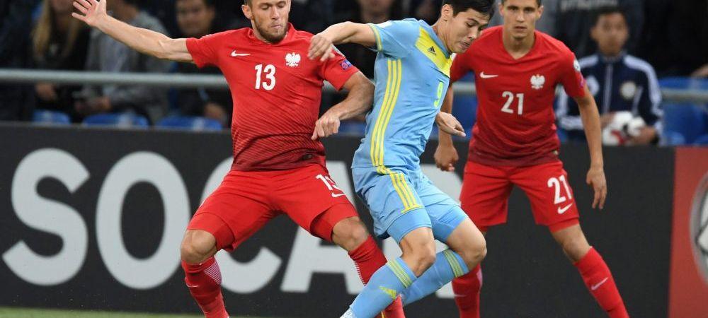 """""""Prima criza din mandatul selectionerului"""". Polonezii nu au nici ei parte de debutul asteptat in preliminariile pentru Mondial. Ce spun dupa 2-2 in Kazahstan"""