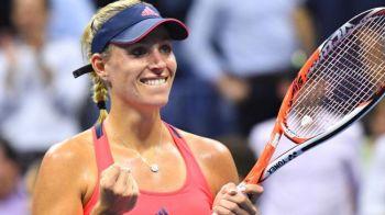 Kerber castiga US Open si este noul lider mondial in clasamentul WTA. Serena, detronata dupa mai bine de 3 ani!