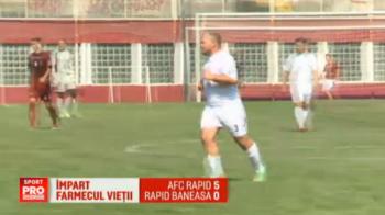 """""""Si noi cu cine sa tinem?"""" Trei echipe Rapid au debutat in liga a cincea! Doua s-au duelat intre ele. VIDEO"""