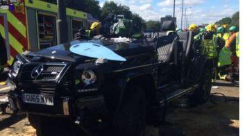Cat va absenta fotbalistul lui Crystal Palace dupa accidentul HORROR de masina din urma cu 5 zile: Pape Souare a scapat ca prin minune cu viata