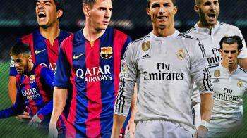 Barcelona e MSN, dar Realul nu e BBC.Messi, Neymar si Suarez au marcat 10 goluri pentru Barca in 2 partide, in timp ce Realul are 12 marcatori diferiti