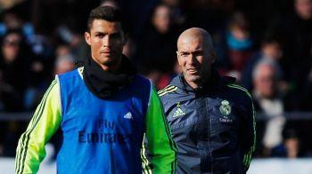 """Catalanii dezvaluie cearta dintre Ronaldo si Zidane: """"Sunt dezamagit de tine!"""" Promisiunea facuta de Zidane inainte de Dortmund - Real, marti 21.45 la ProTV"""