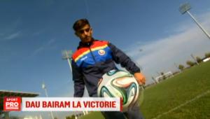 """Adversara Stelei din Europa League creste un junior roman: """"De la prima echipa, imi place mult Pato"""". Roberto Bairam le ureaza stelistilor sa dea chiar BAIRAM dupa meci :)"""