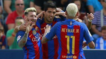 Monchengladbach 1-2 Barcelona | Catalanii sufera fara Messi si castiga cu mare noroc, dupa o gafa a lui Sommer. Arda si Pique l-au salvat pe Luis Enrique. Toate fazele