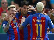 Monchengladbach 1-2 Barcelona   Catalanii sufera fara Messi si castiga cu mare noroc, dupa o gafa a lui Sommer. Arda si Pique l-au salvat pe Luis Enrique. Toate fazele