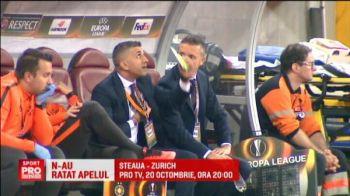 Comunicare PERFECTA pe Arena Nationala! :) Cele mai tare momente ale serii la Steaua - Villarreal