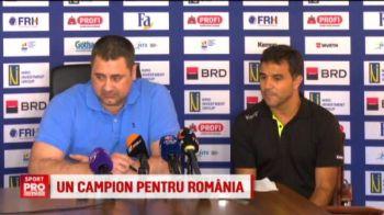 Mourinho si Guardiola sunt ai Romaniei! Ce a spus Ambros la conferinta de prezentare ca antrenor al nationalei feminine de handbal