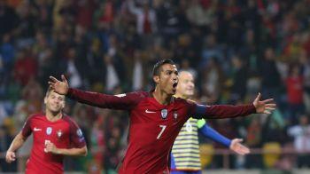 """""""Nu se mai satura!"""" POKER si TREI recorduri stabilite de Cristiano Ronaldo in meciul cu Andorra! VIDEO"""