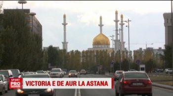 """Aur peste tot! Asta au vazut Daum, Stanciu si Andone la aterizarea in Kazahstan. Cum arata capitala Astana, """"Las Vegasul"""" Kazahstanului"""