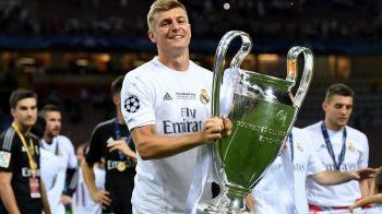 OFICIAL | Real Madrid l-a facut pe Toni Kroos al treilea cel mai bine platit fotbalist din lot, dupa Ronaldo si Bale. Madrilenii, in fata Barcei la salarii cu un Ronaldo :)