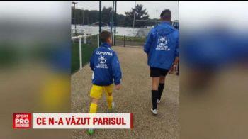 VIDEO | Imagini de la Paris, de la Mondialul pustilor Danone Nations Cup: Academia Hagi a ratat dramatic optimile, dar isi continua parcursul. Un pusti uruguayan s-a remarcat prin inaltimea sa