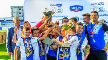 Ei sunt Campionii Viitorului | Prezentare multimedia a pustilor care reprezinta Romania la Mondialul Danone Nations Cup