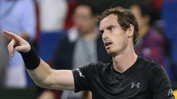 Andy Murray, pentru a 3 oara in cariera campion la Shanghai! L-a batut pe Bautista cu 7-6, 6-1
