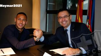 OFICIAL | Neymar si-a prelungit contractul cu Barcelona pana in 2021 si va fi unul dintre cei mai bine platiti jucatori din lume. Prima reactie a brazilianului