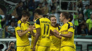 Ziua revenirilor incredibile: Borussia Dortmund a fost condusa cu 3-0 cu 30 de minute inaintea finalului, dar a reusit sa scoata egalul