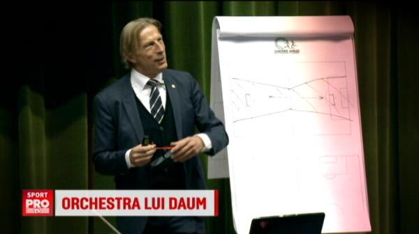 SUPER VIDEO Daum, dirijorul care duce nationala la Cupa Mondiala! Cum orchestreaza calificarea :)
