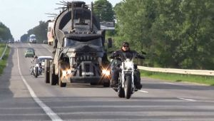 VIDEO Mad Max, frate! Camionul rusesc care bantuie autostrazile!