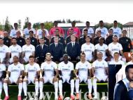 De pus in rama. Stelistii au facut poza oficiala pentru sezonul 2016/2017. Mache i-a aranjta cravata lui Boldrin :) VIDEO