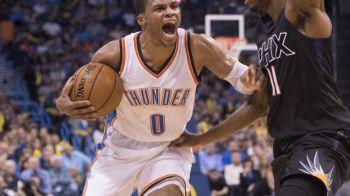 Magie in NBA! Russell Westbrook are un start de sezon istoric, mai bun decat Magic Johnson sau Jordan!