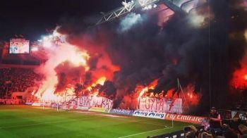Cel mai tare meci din weekend! Imagini absolut incredibile la Olympiakos - Panathinaikos, derbyul Greciei: ultrasii au aprins stadionul