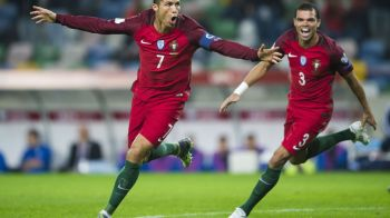 Dubla cu Letonia l-a facut golgheterul preliminariilor: Cristiano Ronaldo, la egalitate cu Lewandowski dupa ce Portugalia a invins cu 4-1. VIDEO