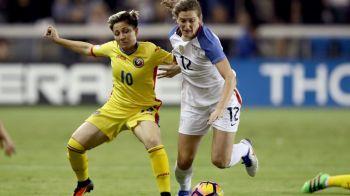 Infrangere la scor si in cel de-al doilea meci impotriva campioanei mondiale. Nationala de fotbal feminin a pierdut cu 0-5 cu Statele Unite, in fata a 20.000 americani