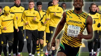 """Nu glumim, Usain Bolt vine la noi"". Seful Borussiei Dortmund anunta cand va merge jamaicanul langa Aubameyang si Reus"