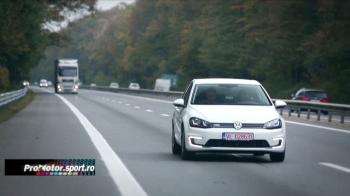 Cat dureaza si cat costa drumul Bucuresti - Timisoara cu un Volkswagen Golf electric. VIDEO