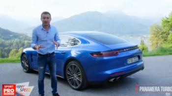 FIRST DRIVE: Porsche Panamera, cea puternica limuzina din lume! Super Speed a testat-o in Germania. VIDEO