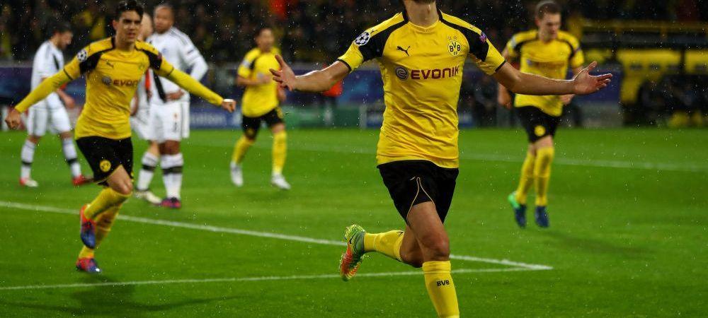 TOATE REZUMATELE VIDEO AICI. Dortmund 8-4 Legia - RECORD de goluri in UCL; Sevilla 1-3 Juve, Leicester 2-1 Brugge