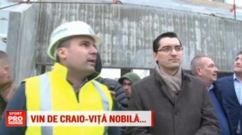 """Nationala ajunge din nou la Craiova. Burleanu a vizitat noul stadion si a facut anuntul: """"Cu Armenia sau Kazahstan vom juca aici"""". VIDEO"""