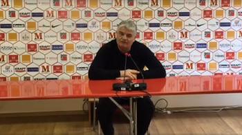 "Dinamovistii sunt cu gandul la derbiul cu Steaua,Andone ii avertizeaza inainte de meciul cu Voluntari: ""Am avut o discutie serioasa in vestiar"""