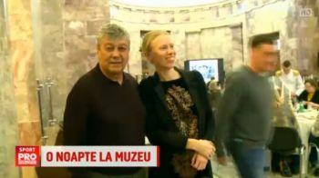 """""""O noapte la muzeu"""" cu Mircea Lucescu in rol principal :) Toata lumea l-a asaltat pe Il Luce pentru poze VIDEO"""