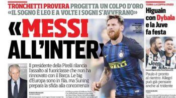 Veste BOMBA in Italia! Cine e miliardarul hotarat sa-l aduca pe Messi la Inter Milano