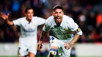 Gestul superb al lui Ramos! Cui i-a dedicat golul cu care a salvat-o pe Real in El Clasico