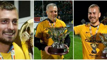 Oamenii anului in fotbalul romanesc: Alibec, fotbalistul si atacantul anului; Sumudica, cel mai bun antrenor. Tamas, Nita si Razvan Marin, si ei pe lista premiantilor