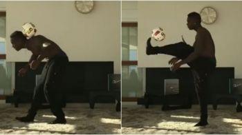 Singur Acasa, varianta Balotelli. Ce face italianul in sufragerie, cand se plictiseste. VIDEO