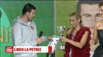 Ignorati de nationala, Nita si Tamas au fost premiati la Gala Fotbalului romanesc! Cei doi au incalcat ordinele lui Reghe :) VIDEO