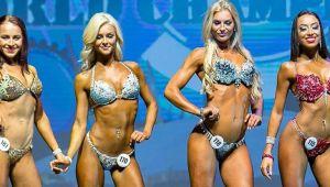 """Nu toate culturistele sunt """"pachete de muschi"""". Cat de sexy e femeia desemnata Miss Bikini la un concurs de bodybuilding"""