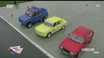 VIDEO Special 1 decembrie la Super Speed: Dacia vs ARO vs Oltcit! Vezi cine castiga o cursa 100% romaneasca