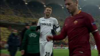 Lovin a fugit mai tare ca pe Giulesti! Cum a reusit sa obtina tricoul lui Totti dupa calificarea istorica a Astrei! VIDEO