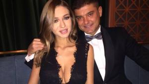 Cristian Boureanu s-a afisat cu iubita de 19 ani la o petrecere mondena. Cum arata tanara intr-o rochie neagra minuscula