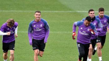 SUPER FOTO! Cristiano Ronaldo si-a VOPSIT PARUL pentru Balonul de Aur! Cum arata starul lui Real cu parul AURIU
