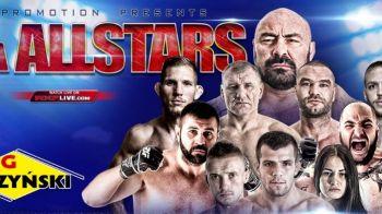 Greul Romaniei, Sandu Lungu, si durii din MMA intra in cusca la Sport.ro: MMA All Stars, pe 19 decembrie, IN DIRECT de la Ploiesti
