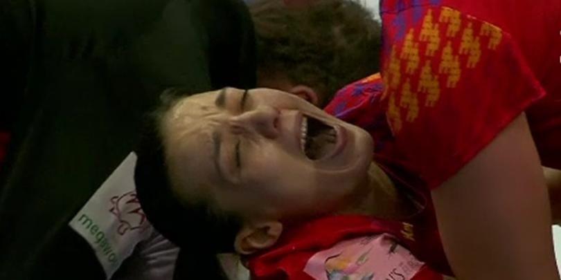 EXCLUSIV | Care este starea Cristinei Zamfir dupa finalul dramatic de meci cu Germania