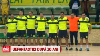 Sfertul UEFAntastic din 2006 s-a jucat din nou: Steaua si Rapid, cu Dica si Pancu, au facut egal. VIDEO