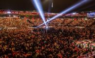 Magia Craciunului pe stadion! Nemtii au cantat colinde ca in galerie la Berlin sa uite de teroristi! VIDEO