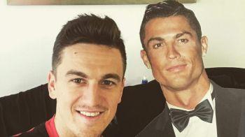 """FOTO """"Noul nostru coleg!"""" In asteptarea primului meci din acest sezon, Gardos petrece cu """"Ronaldo"""""""