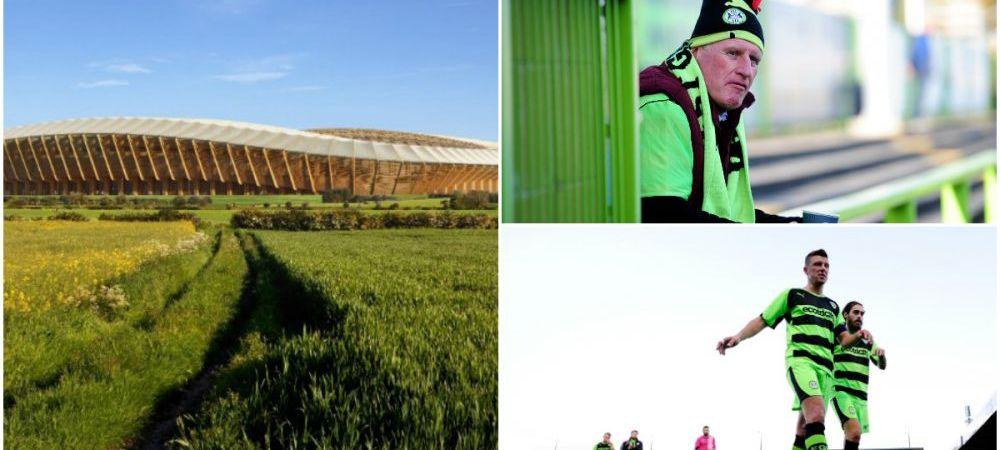 Primul club HIPSTER din lumele serveste jucatorilor doar produse vegane si vrea sa-si faca stadion DIN LEMN